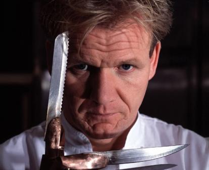Gordon Ramsay With Knives